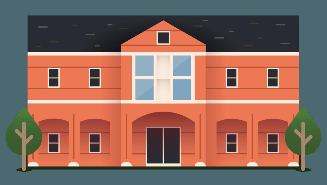 dorm building